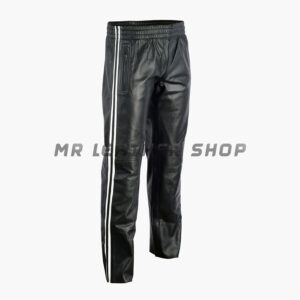 Black Leather Trouser