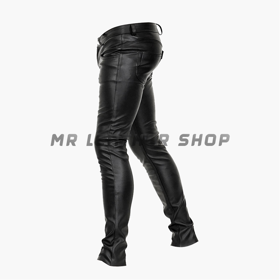 Police Leather Pants