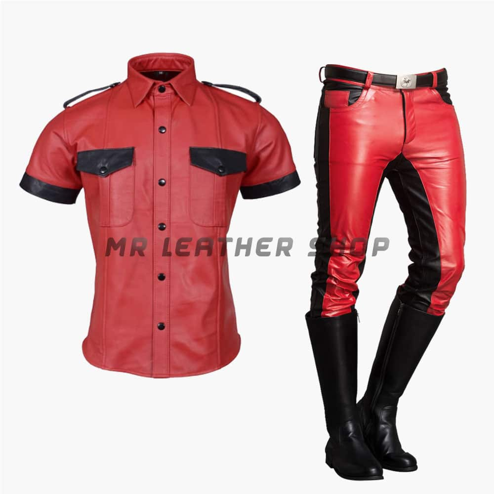 Red Leather Uniform