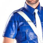 mens leather uniform