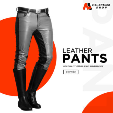 Leather pants and breeches